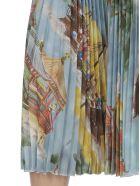 Stella Jean Pleated Skirt - JAPANESE MAP