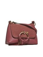 See by Chloé Small Joan Shoulder Bag - Rosa scuro