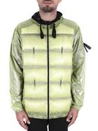 Moncler Genius Hiles Padded Jacket With Hood - Yellow