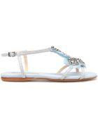Anna Baiguera Strappy Sandals - Canvas Cielo