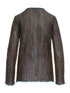 M Missoni Viscose Blend Lurex Sweater - Black