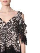 McQ Alexander McQueen Leopard-print Top - NERO