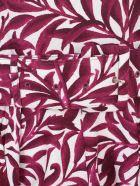Samantha Sung Aster Cs Midi Dress S/s Boat Neck - White Pink