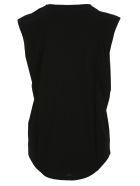 Balmain Logo Print Tank Top - BLACK + WHITE