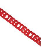 GCDS Gcds Crochet Bracelet - RED