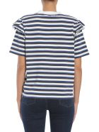 Maison Kitsuné Striped T-shirt - BLU