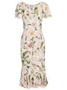 Dolce & Gabbana Long Dress - Gigli fdo rosa