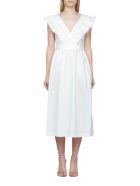 A.P.C. Ruffled Dress - Avorio