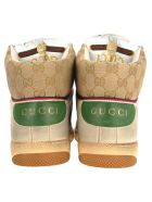 Gucci Men's Screener Gg High-top Sneaker - IVORY