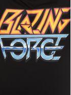 McQ Alexander McQueen T-shirt Blazing Force Print - Darkest Black