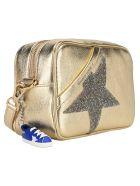 Golden Goose Star Crystal-embellished Crossbody Bag - GOLD