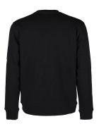 MSGM Black Cotton Sweatshirt - Black
