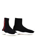 Prada Linea Rossa Prada High-top Sneakers - Black