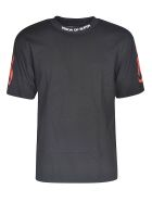 Vision of Super Sleeve Print T-shirt - Black