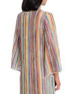 Missoni Tunic With Straped Motif - Multicolor