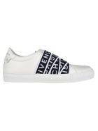 Givenchy Urban Street Low Sneaker With Webbing - Black