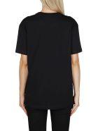 Valentino Black Cotton Vltn T-shirt - Black