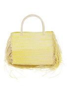 Sensi Studio Yellow Straw Bag - Yellow