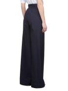SportMax Trousers - Blu scuro