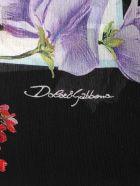 Dolce & Gabbana Floral Print Scarf - Ortensie/fiori F.nat