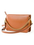Givenchy Textured Clutch - Chestnut