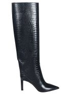 Jimmy Choo Skinned Over-the-knee Boots - Nero