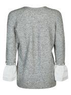 3.1 Phillip Lim Round Neck Sweater - MEDIUM HEATHER GREY