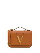 Versace V Bag - Beige
