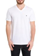 Dior Homme Bee Embroidered Tee - Bianco
