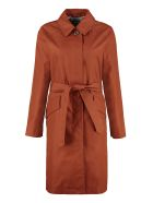 A.P.C. Lucienne Cotton Trench Coat - Bronze