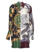 Salvatore Ferragamo Silk Shirt - Multicolor