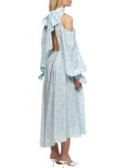 Rokh Cold Summer Dress - Celeste