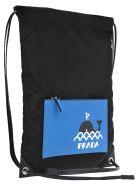 Prada String Backpack Seahorse - BLACK