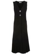 Charlott Button Dress - Nero