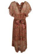 Zimmermann Espionage Frilled Dress - Rosewood Floral