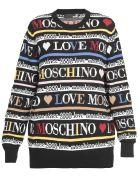 Love Moschino Cotton Sweater - BLACK