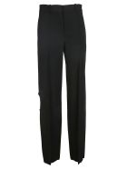 Victoria Beckham Straight Leg Trousers - Black