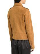 Unfleur Sude Biker Jacket - Brown