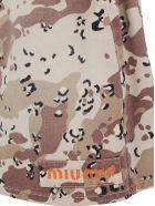 Miu Miu Mini Skirt - Kaki