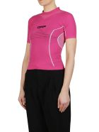 Off-White Active Performance Top - Fucsia
