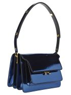 Marni Marni Trunk Bag - BLUE METALLIC