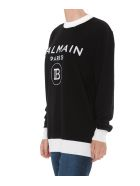 Balmain Logo Sweater - Black