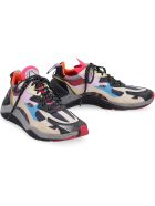 McQ Alexander McQueen Daku Leather And Fabric Low-top Sneakers - Multicolor