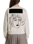 Off-White Animals Portrait Sweatshirt - Beige