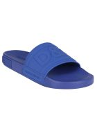 Dolce & Gabbana Electic Blue Sliders - BLUETTE/BLUETTE
