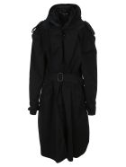Y/Project Infinity Trench Coat - DARK NAVY