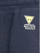 Maison Kitsuné Maison Kitsune Logo Patch Sweatpants - NAVY