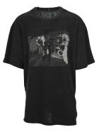 R13 T-shirts JOY DIVISION WARSAW OVERSIZED T-SHIRT