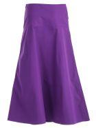 Sofie d'Hoore Flared Skirt - Purple