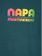 Napa By Martine Rose Napa By Martin Rose Logo Print T-shirt - GREEN